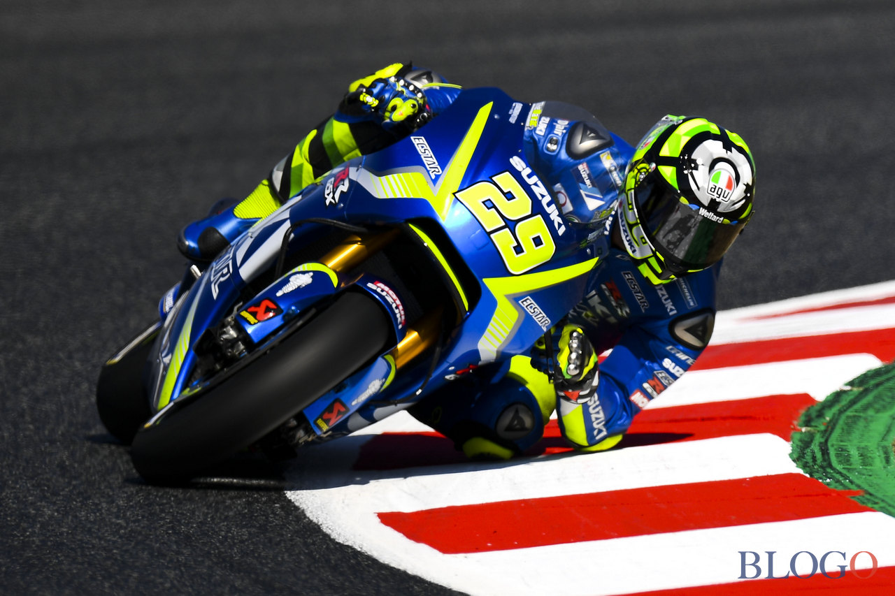 MONTMELO, SPAIN - JUNE 10:  Andrea Iannone of Italy and Team Suzuki ECSTAR rides during a free practice ahead of qualifying at Circuit de Catalunya on June 10, 2017 in Montmelo, Spain.  (Photo by David Ramos/Getty Images)