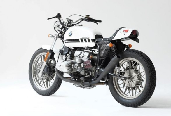 Fuel Bespoke Motorcycles BMW R100 Tracker