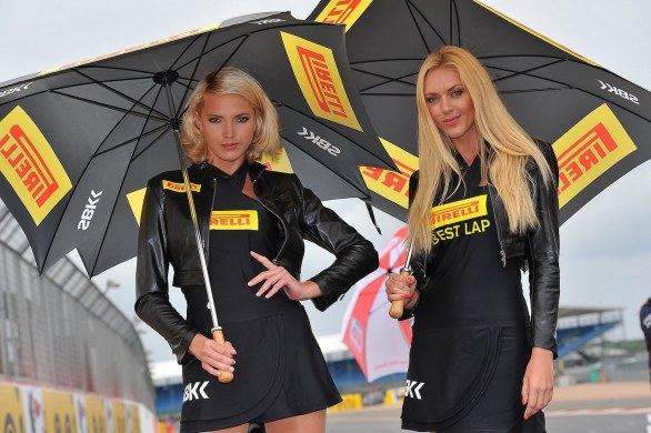 Grid Girls SBK Silverstone 2013
