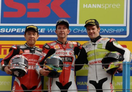 Podio World Superbike 2008