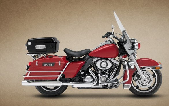 Harley-Davidson Road-King-FLHP_Fire Rescue