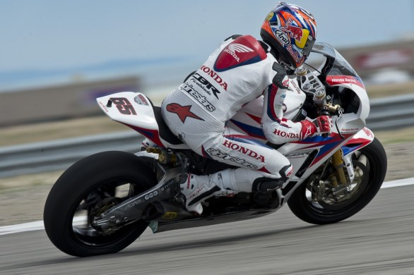 Honda World Superbike - Miller 2012