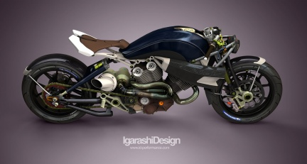 Igarashi Design Concept V-Twin Turbo