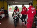Il Team Red Devils in pista a Vallelunga