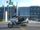 mrcape Scooter in prova Kymco Xciting 500i