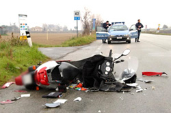 Incidente stradale foto ASAPS