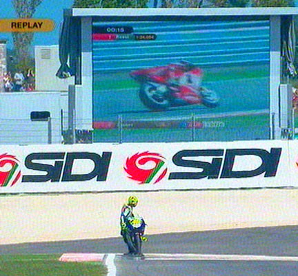 Stoner in pole a Misano! by MrCape