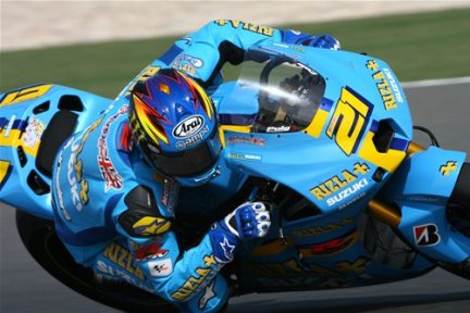 John Hopkins Rizla Suzuki