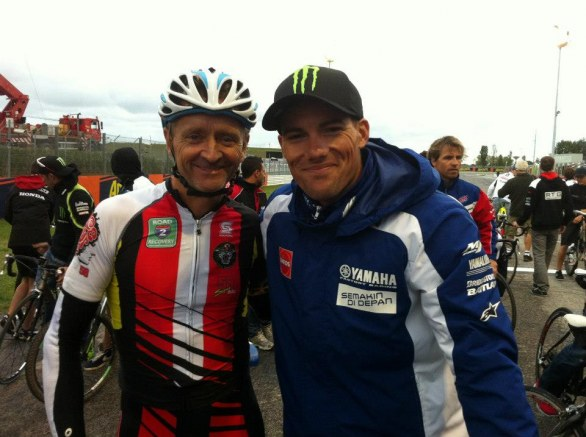 Kevin Schwantz e 'Cycle Of Wishes' a Misano
