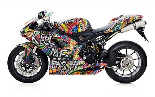 """""""Kill Me Fast"""" Ducati Collection by Kristian von Hornsleth"""