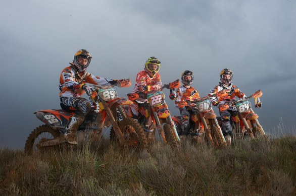 KTM Factory Racing Motocross 2012