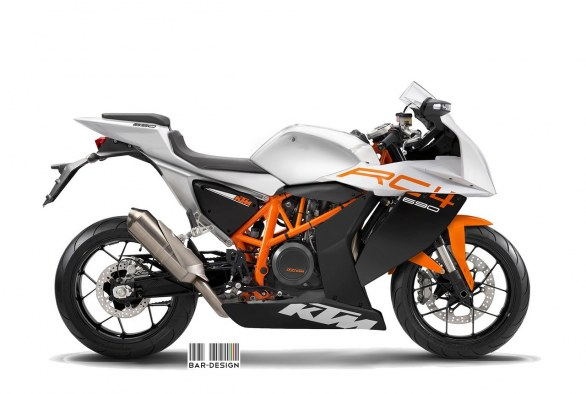 KTM RC4 Concept by Luca Bar Design