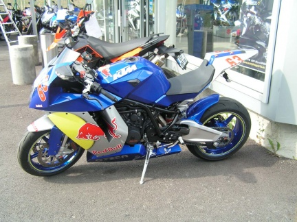 KTM RC8 1190 Red Bull Blu by ORCA
