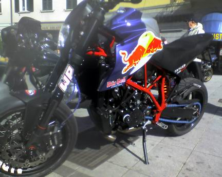 "KTM Supermoto Special ""Bur dell"" Replica"