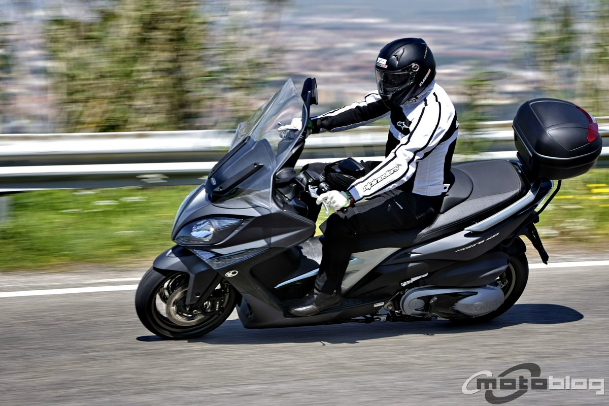 kymco xciting 400i il test di motoblog 1 55. Black Bedroom Furniture Sets. Home Design Ideas