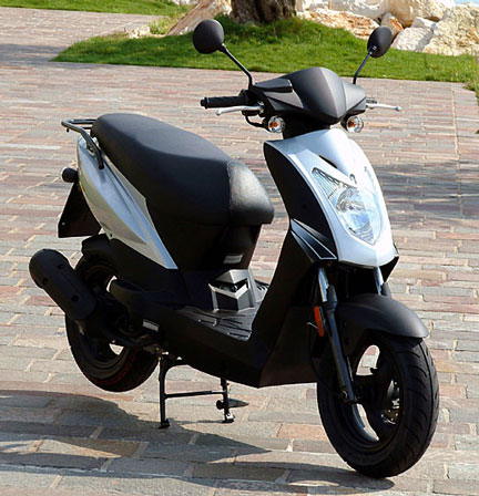 Kymco Agility 125 front