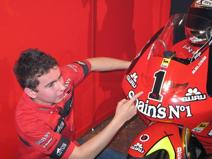 Jorge Lorenzo team Fortuna
