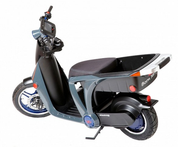 Mahindra GenZe STS - Scooter elettrico