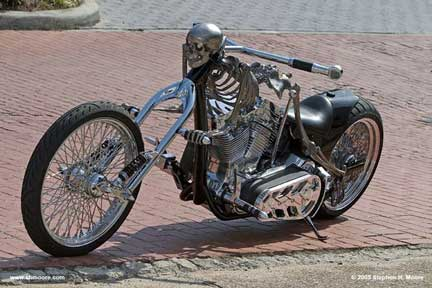 Skeleton Bike front
