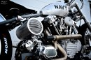 Navy F3 Rocketeer by Darwin Motorcycles