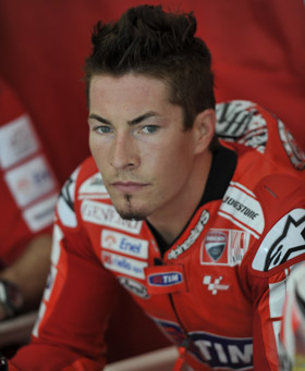 Nicky Hayden a Sepang
