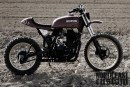 Suzuki DR 600 Scrambler by North East Custom