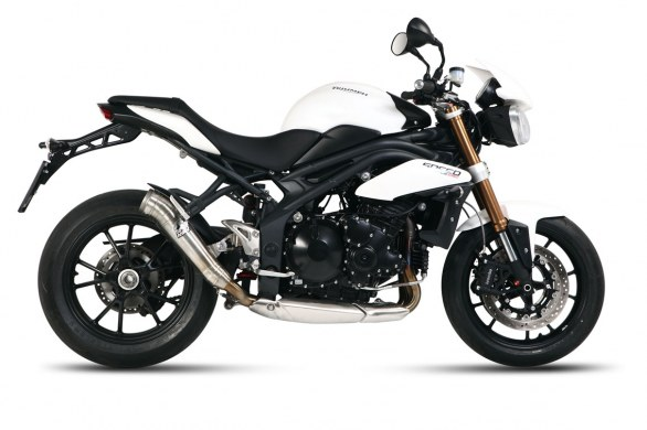 Novità MIVV per Triumph Tiger 800 e Speed Triple 2011