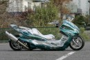 Pimped Japanese Scooter