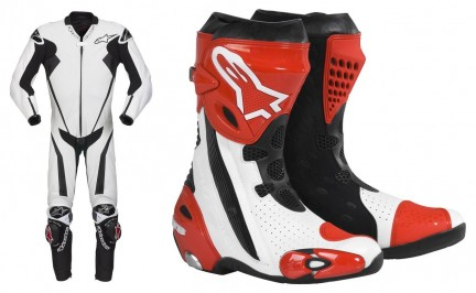 Tuta Racing Replica e Stivali Supertech R Alpinestars