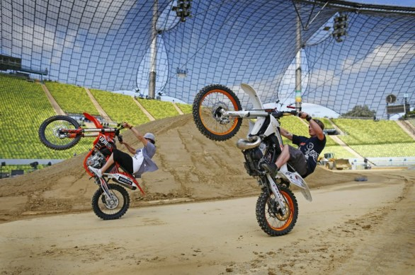 Red Bull X-Fighters 2012 - presentazione Monaco