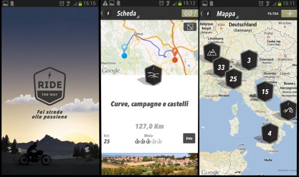 Rubrica App per Motociclisti: Ride the Way