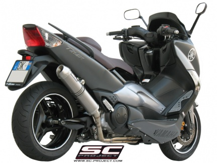 scarico completo 2 1 sc project per yamaha t max 500. Black Bedroom Furniture Sets. Home Design Ideas