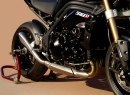 Scarico HP Corse Hydroform per Triumph Speed Triple 2011
