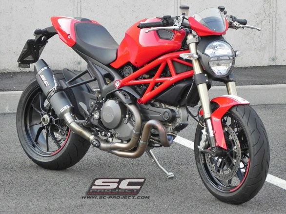 Scarico SC-Project per Ducati Monster 1100 EVO