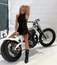 Sexy Bikers: blonde girl from Praga