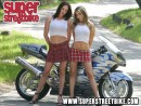 Sexy bikers: Ericka and Eve
