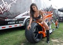 Sexy bikers:  Michelle, ma belle...
