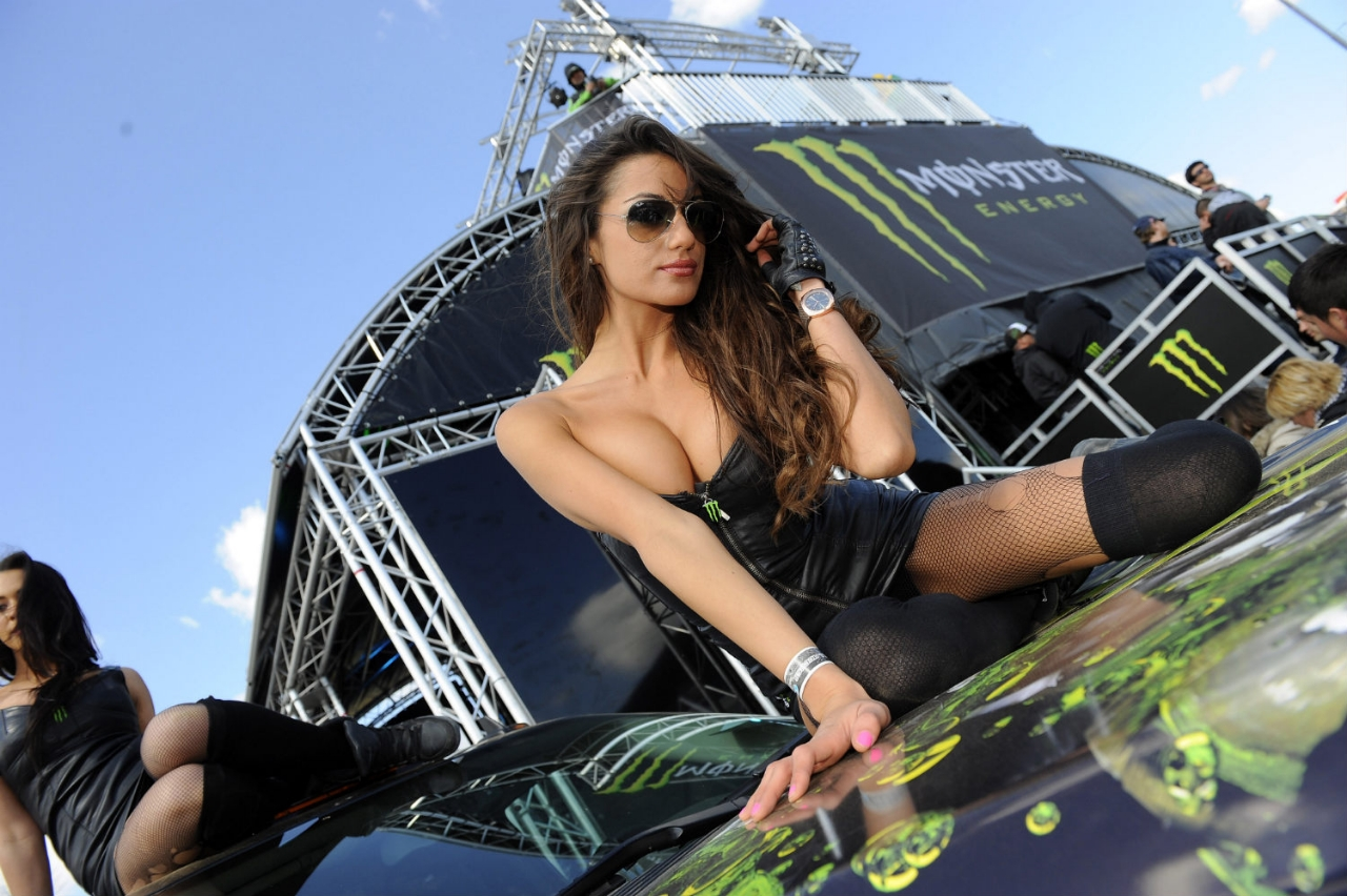 monster energy naked girls