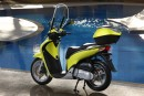Test Honda SH125i my 2009
