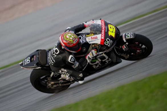 Test Team Go&Fun Honda Gresini 2012