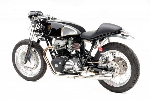 Kawasaki W650 The Fiddler by Deus Ex Machina