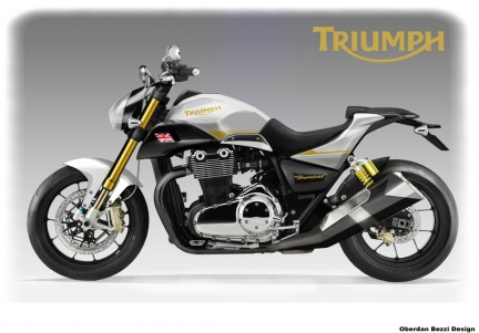 Triumph Hurricat project by Oberdan Bezzi