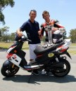 Troy Bayliss star del 24 Hour Scooterthon
