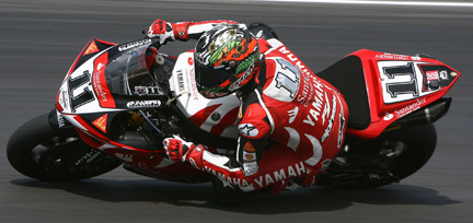 Troy Corser a Misano