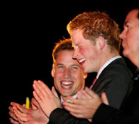 Principi William e Harry
