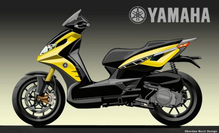 Yamaha City Racer 250 by Oberdan Bezzi