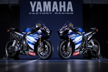 Svelati i colori 2009 del Yamaha World Superbike Team