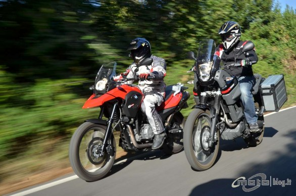 yamaha xt660z t n r vs bmw g 650 gs il test confronto di. Black Bedroom Furniture Sets. Home Design Ideas